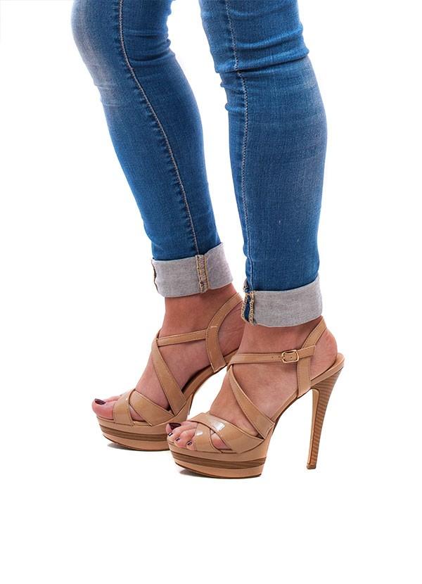 Ženske sandale braon
